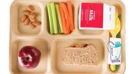 ناهار مدارس امریکا