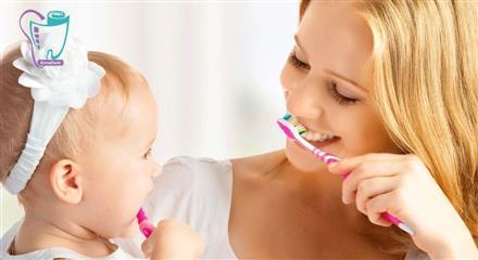 تغذیه با شیر مادر و سلامت دهان