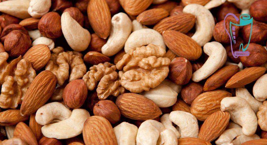 دانه های خوراکی مغذی و سلامت دندانها