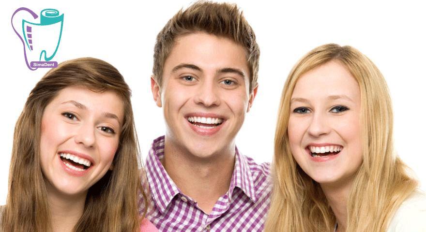 نوجوانان و سلامت دندان ها