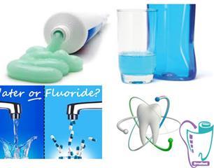 فلوراید برای سلامت دهان