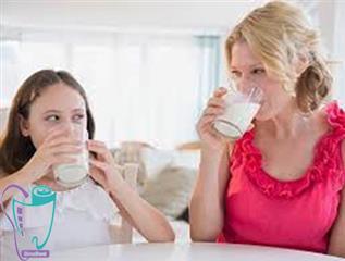 شیر و سلامت دهان